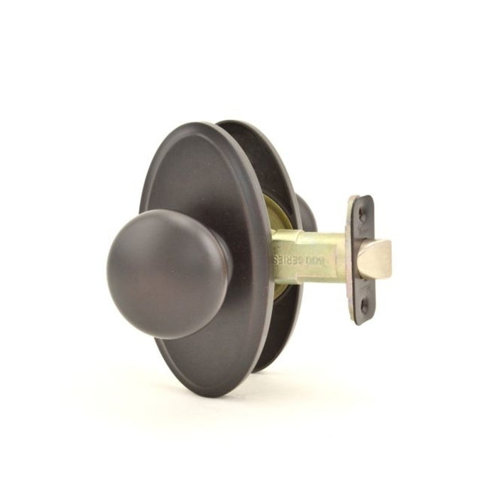 Weslock 02710I1I1SL20 Impresa Oval Privacy Lock, Oil Rubbed Bronze