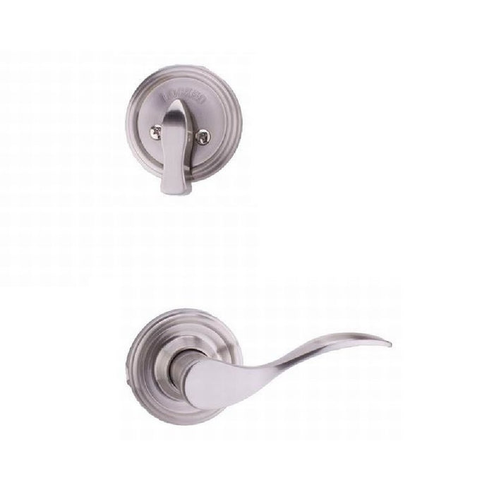 Weslock R2100--UNSL20 Right Hand Bordeau Interior Single Cylinder Handleset, Satin Nickel