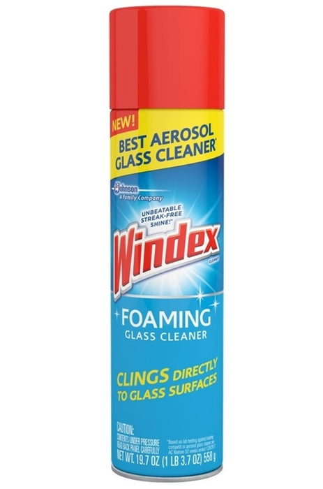 Windex 70875 Fresh Scent Foaming Glass Cleaner, 19.7 Oz