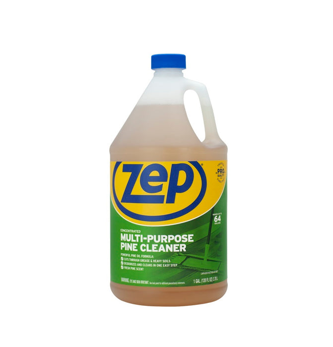 Zep ZUMPP128 Multipurpose Disinfectant & Cleaner, Pine Scent, 1 Gallon