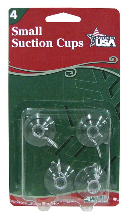 Adams 7500-77-1043 Christmas Suction Cup Hooks, 1-1/8