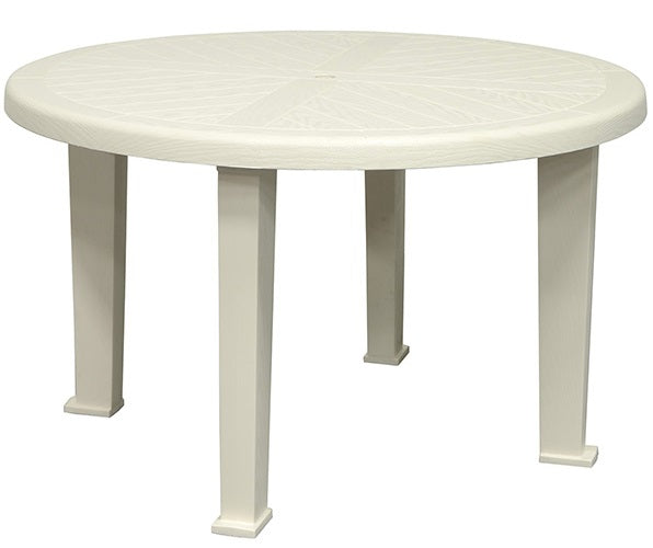 Pleasing Adams 8122 48 9700 Brentwood Round Dining Table White Short Links Chair Design For Home Short Linksinfo