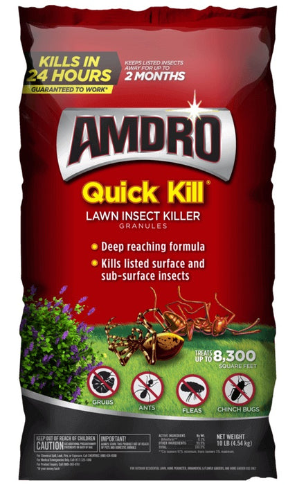 Quick Kill Lawn Insect Killer, low price, best lawn & plant ...