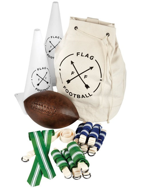 American Vintage 1333008 Outdoor Flag Football Set, 35 Piece