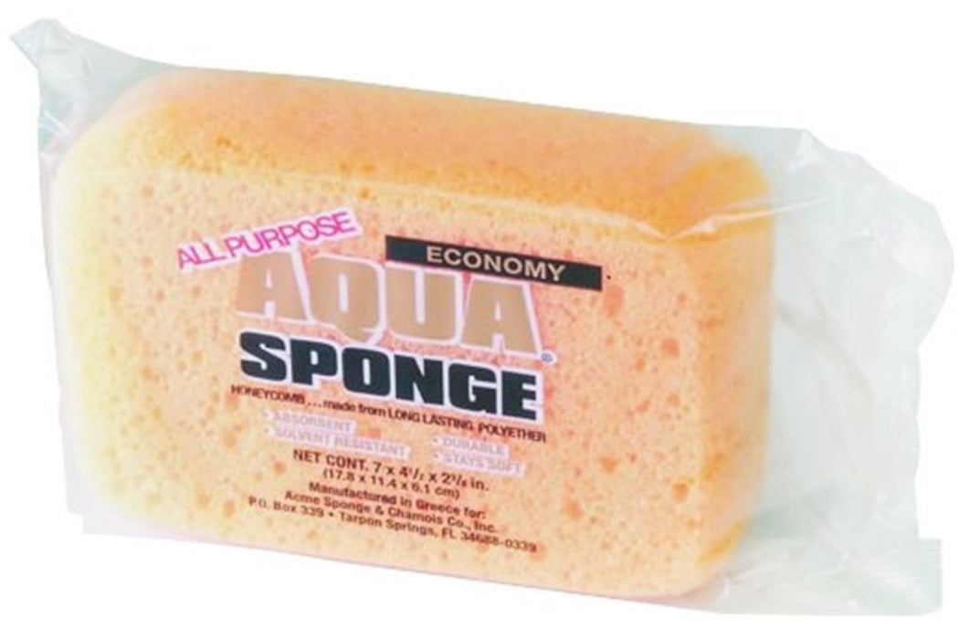 Aqua Sponge 00027 Cleaning Sponge, Yellow