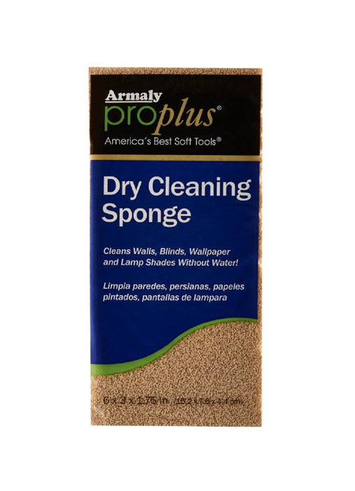 Armaly ProPlus 52200 Dry Cleaning Sponge, 6 inch, Cellular Foam