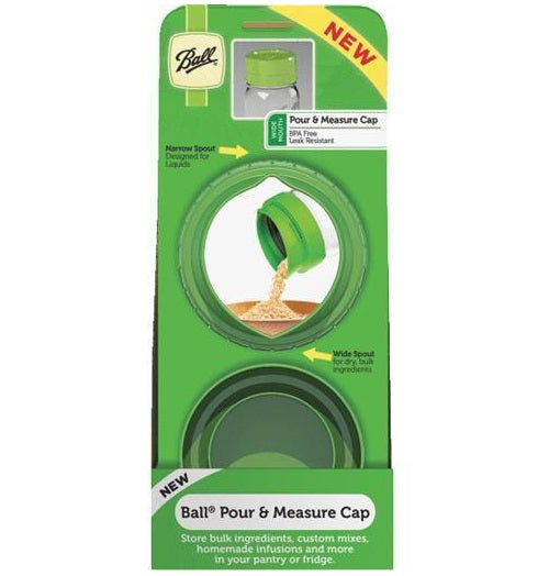 Ball 1440040002 Pour & Measure Cap, Green