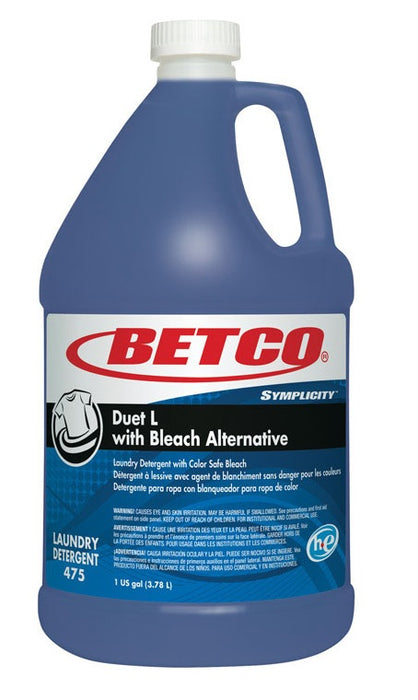Betco 47504-00 Fresh Scent High Efficiency Liquid Laundry Detergent, 1-Gallon