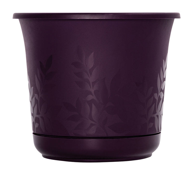Bloem FP0656 Resin Freesia Etched Planter, Exotica, 6