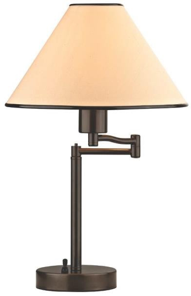 Boston Harbor TB-8008-VB Adjustable Desk Lamp With Swing Arm, 18-1/2