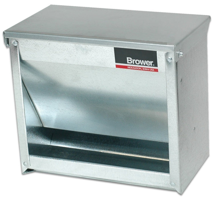 Brower 1CF Galvanized Steel Creep Feeder 16 lbs