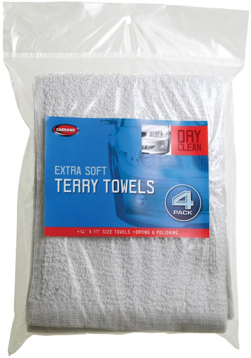 Carrand 45054 Extra Soft Terry Towels, 14