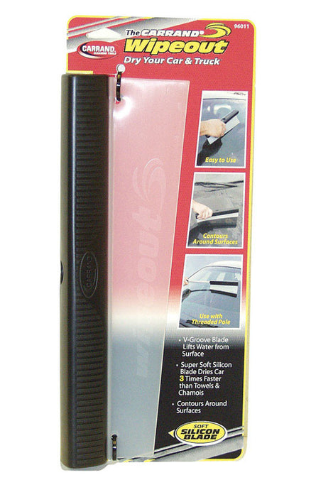 Carrand 96011 Wipeout Contour Silicon Auto Squeegee