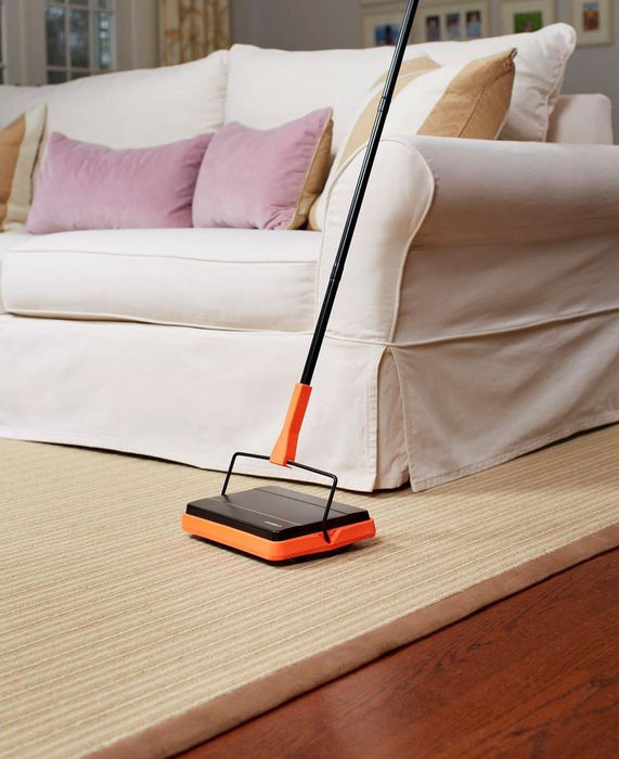 Casabella 28085 Neon Carpet Sweeper, Black