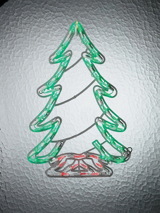 Celebrations N640V211 LED Tree Silhouette, 18