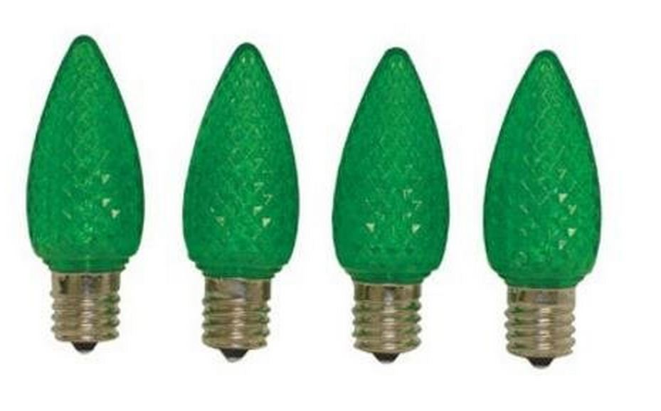 Celebrations UTRT4713 C9 LED Replacement Bulb, Green