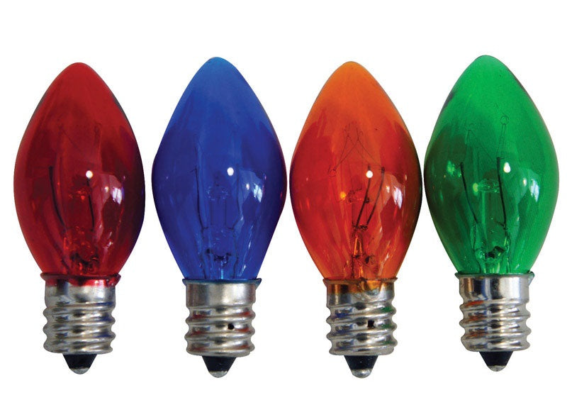 Celebrations UYRU2212 C7 Replacement Bulbs, Multicolored
