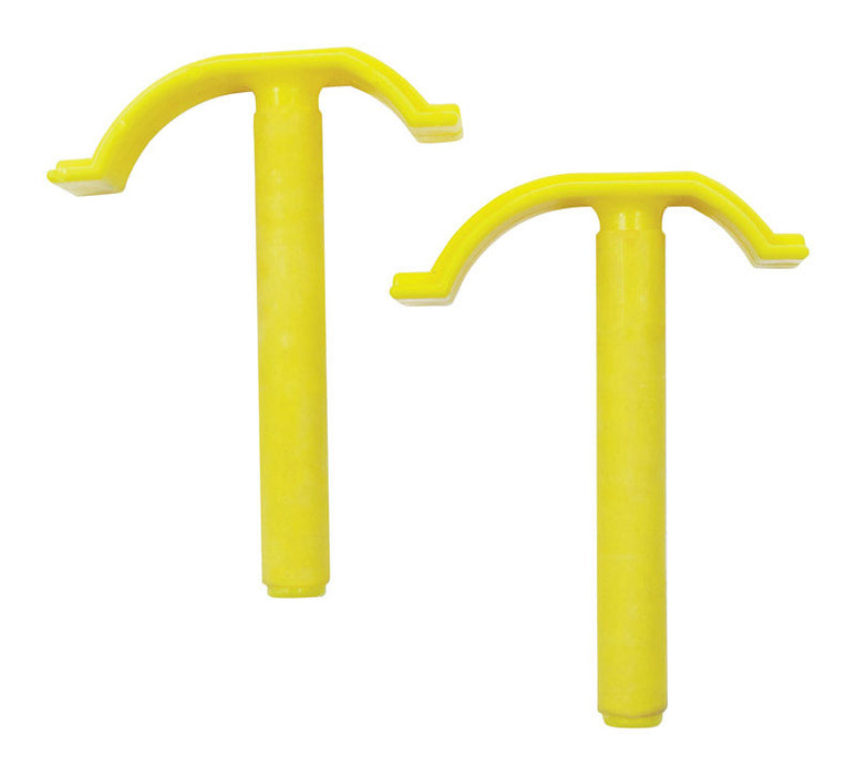 Centipede A0302 Quick Clamps, Plastic, Yellow
