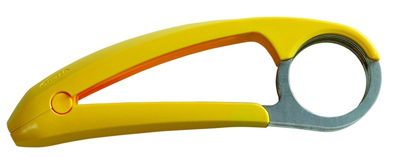 Chef'n 102-205-017 Bananza Banana Slicer, Plastic, Yellow