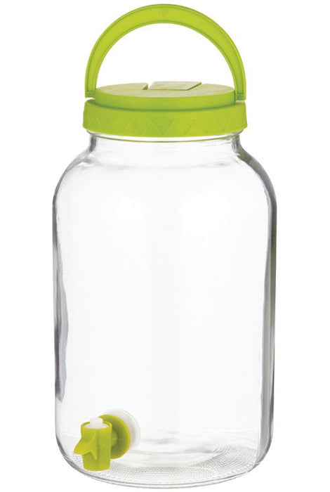 Circle Glass 89656 Sun Tea Jar With Tapper, Clear