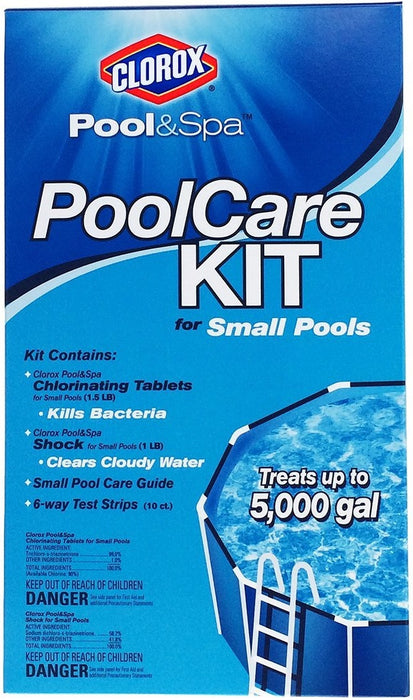 Buy small pool care kit - Online store for outdoor living, pool chemicals in USA, on sale, low price, discount deals, coupon code