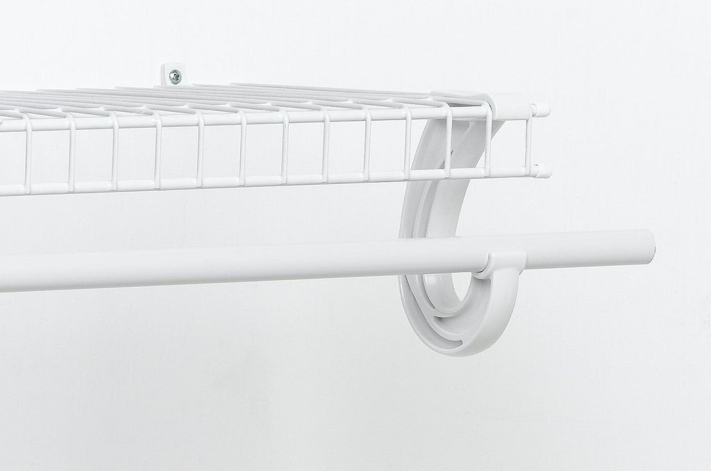 Closetmaid 5629 Hanging Rod Support White Lifeandhome Com