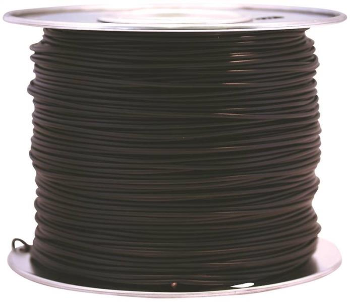 Coleman Cable 55667123 Primary Wire, 14-Gauge, 100-Feet Bulk Spool, Black