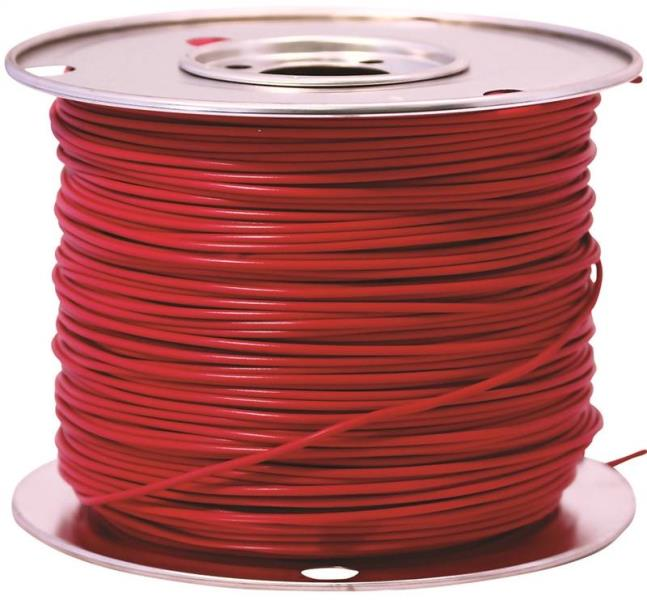 Coleman Cable 55669123 Primary Wire, 14-Gauge, 100-Feet Bulk Spool, Red