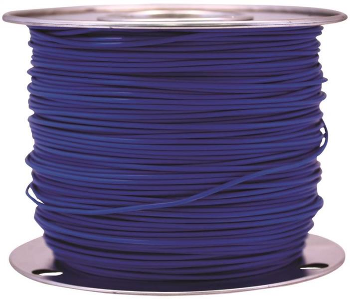 Coleman Cable 55671623 Primary Wire, 12-Gauge, 100-Feet Bulk Spool, Blue