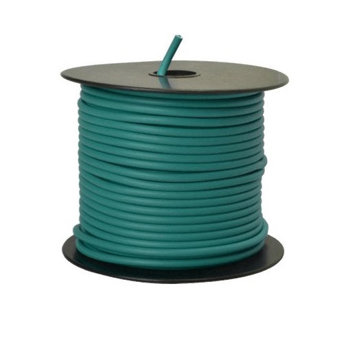 Coleman Cable 55678923 Primary Wire, 12 Gauge, 100', Green