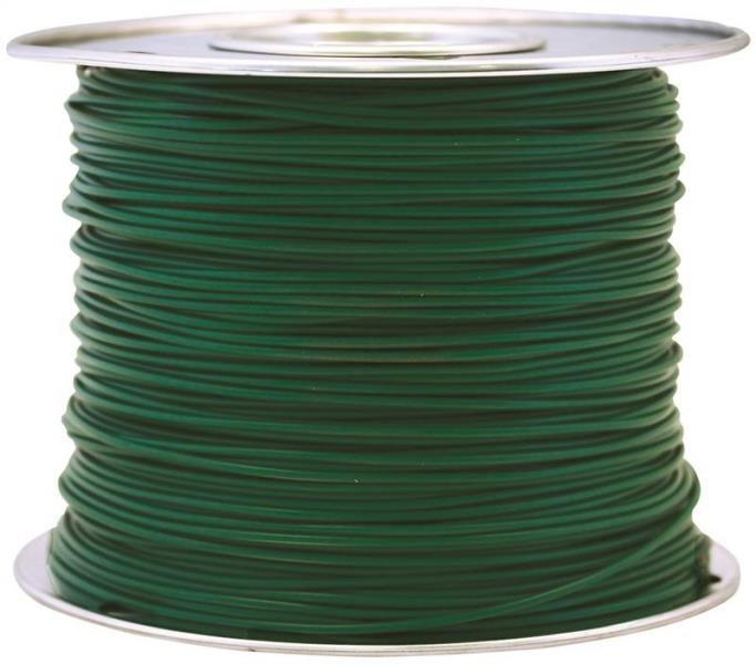 Coleman Cable 56421923 Primary Wire, 14-Gauge, 100-Feet Bulk Spool, Green