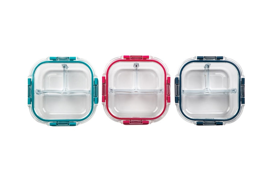 Core Kitchen AC24604 Food Storage Container, Clear, 24 Oz