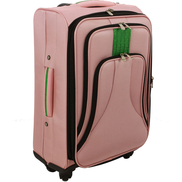 Cambridge COSMO1PC-24PNK Cosmopolitan Luggage Bag, Pink, 24