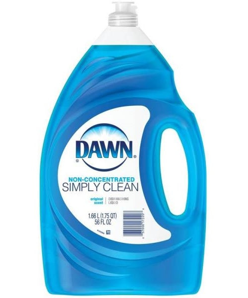 Dawn 17220 Non-concentrate Original Scent Dishwashing Liquid, 56 Oz