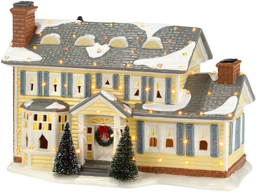 Department-56 4030733 Original Snow Village The Griswold Holiday Lit House