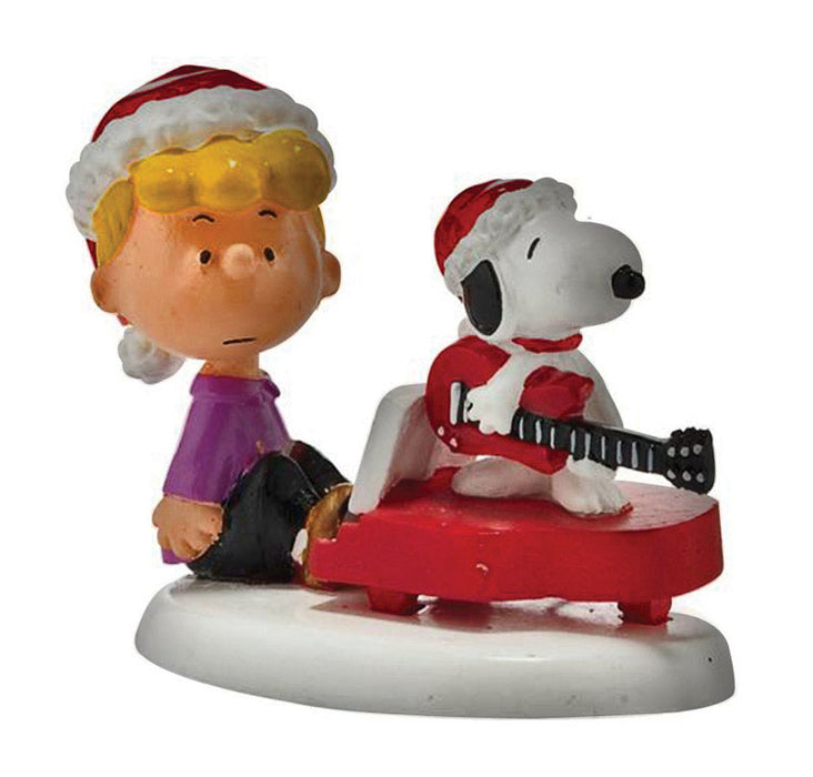 Department 56 4026955 Schroeder And Snoopy's Christmas Jamboree