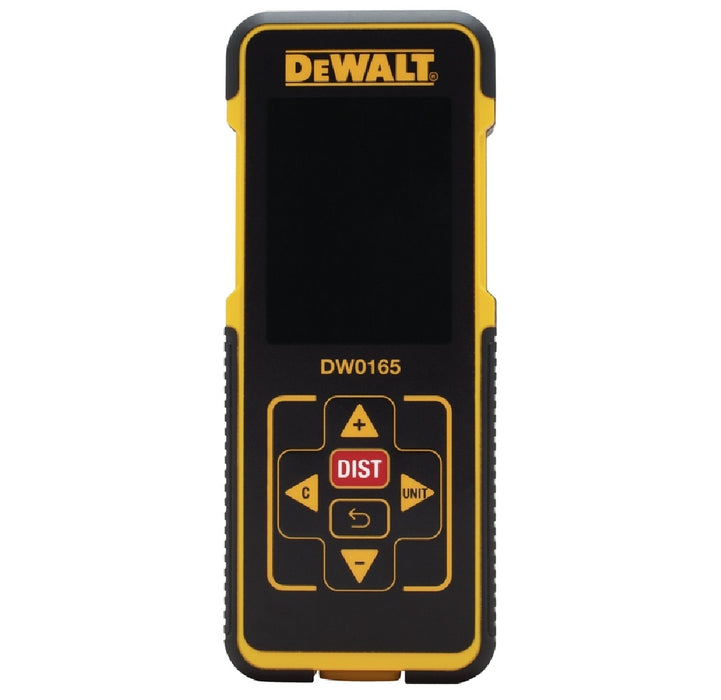 DeWalt DW0165 Laser Distance Measurer, 165 Feet
