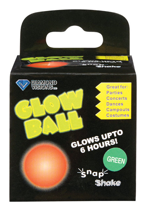 Diamond Visions 01-1494 Glow Ball, Plastic
