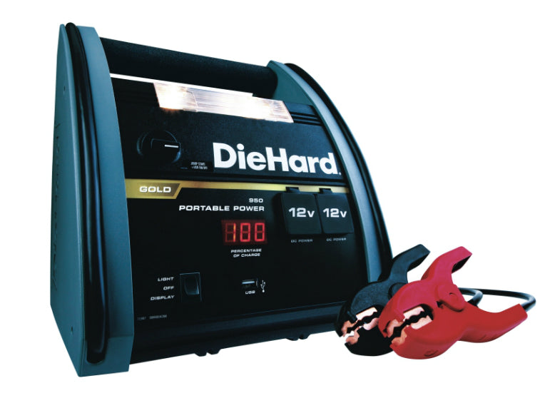 Diehard 71687 Jump Starter Lead Acid Battery Charger, 950 amps