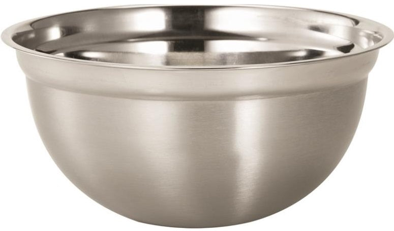 Dura Kleen 3205 Mixing Bowls, Stainless Steel, 5 Quart
