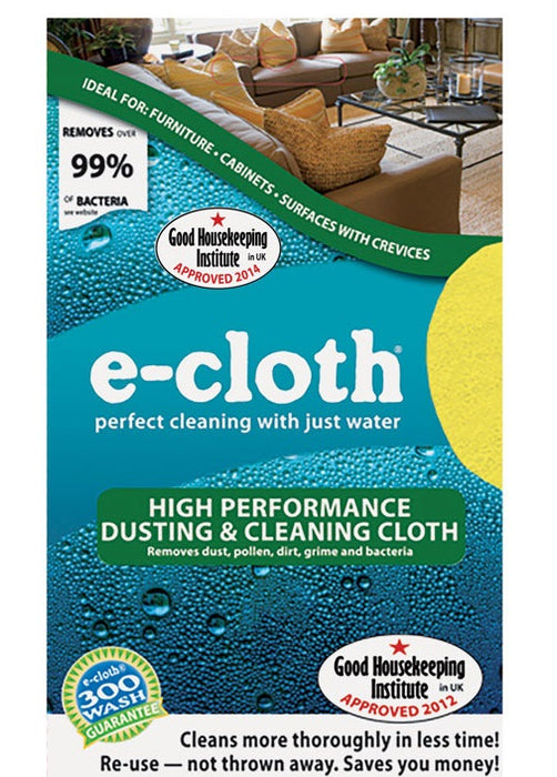 E-Cloth 10619S Dusting and Cleaning Cleaning Cloth, 12.5