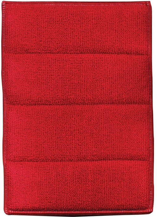 "E-Cloth 10627 Bathroom Cleaning Cloth, 6.5"" x 9"", Red"