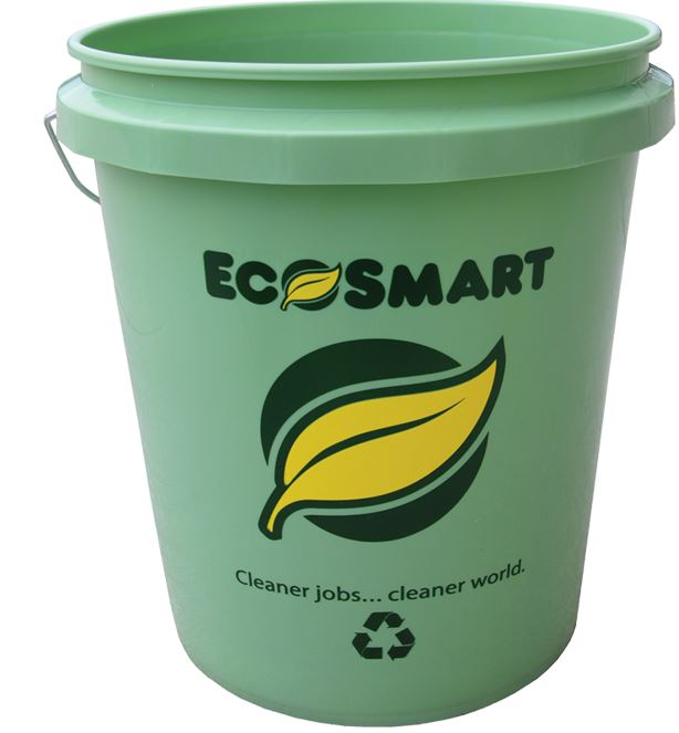 Ecosmart 350133 Recycled Plastic Paint Pail, 5 Gallon