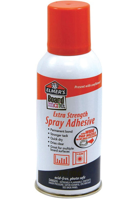 Buy elmers boardmate 4oz spray adhesive - Online store for kids zone, art & crafts kits in USA, on sale, low price, discount deals, coupon code