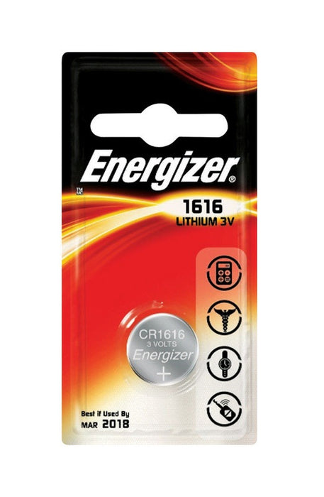 Energizer ECR1616BP Watch And Calculator Battery, 3 Volt