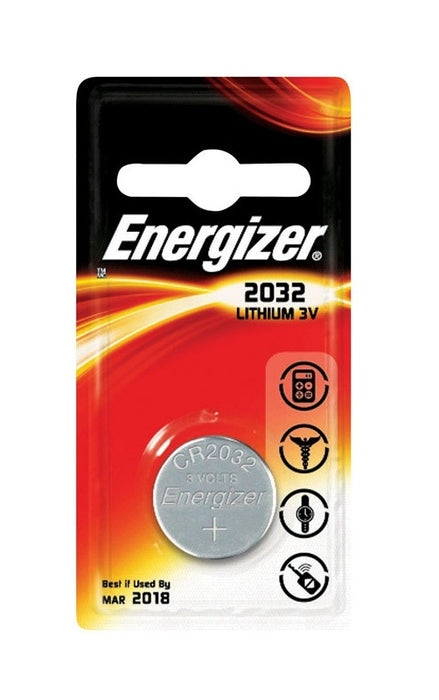 Energizer ECR2032BP Watch Battery, 3 Volt
