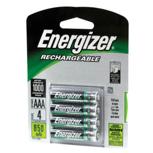 Energizer NH12BP-4 Rechargeable Battery, AAA