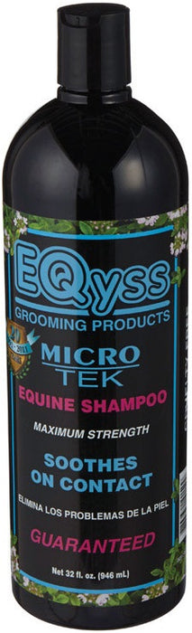 EQyss EYG033 Micro-Tek Medicated Shampoo, 32 Oz