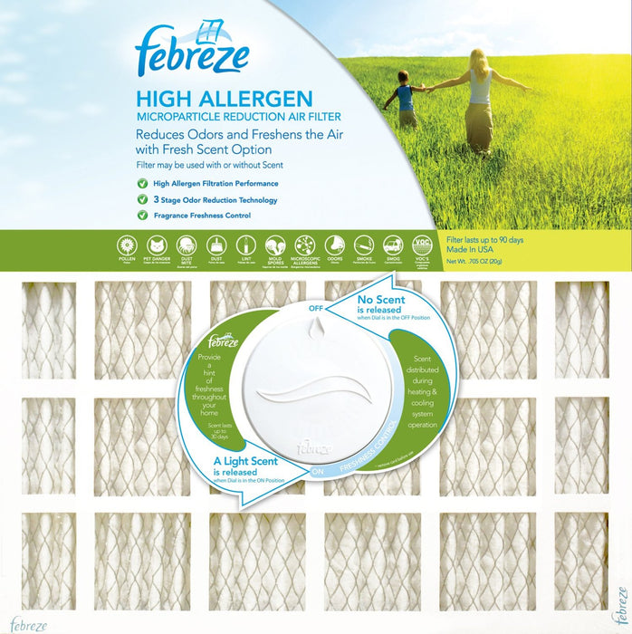 Febreze AF-FB2020 High Allergen Electrostatic Air Filter, 20
