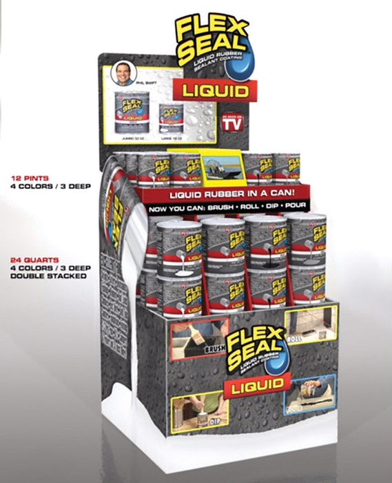 Flex Seal LFSMIX-36 As Seen on TV Rubber Sealant, Multi Color